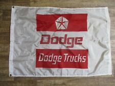 DODGE DEALERSHIP DODGE TRUCKS HEAVY DUTY NYLON FLAG 4X2 NOS