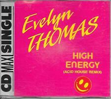 EVELYN THOMAS - High energy (ACID HOUSE REMIX) CD SINGLE 2TR RAMS HORN Holland