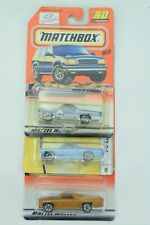 Matchbox 1970 Chevrolet El Camino Freestyle Lot Of 3 Cars