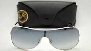 Ray-Ban RB3211 032/8G 135mm Women's Highstreet Shield White Sunglasses