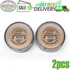 2x Bare Escentuals BareMinerals Foundation Golden Tan W30 8g XL SPF15 NEW SALE
