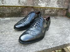 CHEANEY BROGUES MEN'S SHOES – BLACK - UK 9.5 – GOOD CONDITION