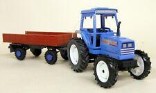 ROS 1/32 Scale - 70513 Iseki 530 + 4 Wheel Trailer diecast model Tractor