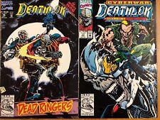 Deathlok 16 17 (1992) Marvel Infinity War