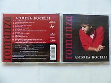 CD Album ANDREA BOCELLI Romanza 539 836-2