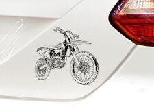 "500EXC-f, Auto-Motorrad-Aufkleber 500 EXC-f, für den ""Motorrad-KTM-Fahrer"""
