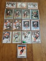 Eric Lindros 16 Card Lot Philadelphia Flyers See Pics Inserts, base etc
