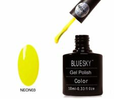 Bluesky UV LED Soak Off Nail Polish Neon 03 Mustard Yellow 10ml
