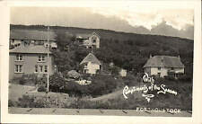 Porthoustock near St Keverne. Cottages on Hillside.