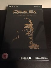 Deus Ex Human Revolution Collector's Edition #451/20000 PS3 (UK PAL)