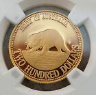 1994 Australia $200 Gold Proof Tasmanian Devil NGC PF70 UCAM PERFECT COIN