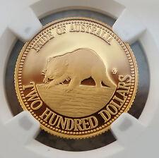 1994 Australia $200 Gold Proof Tasmanian Devil NGC PF70 UCAM PERFECT COIN