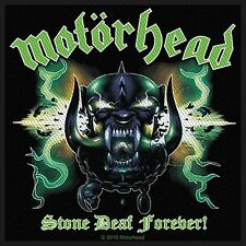 Motorhead Stone Deaf Forever sew-on cloth patch  (ro)