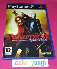 DEVIL MAYCRY 3 SPECIAL EDITION SONY PS2 VERSION 100% FRANCAISE TRES BON ETAT