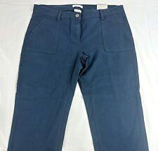 """Van Heusen Slim Fit Crop Jean Blue Stretch Twill Women's Size 8 x 26"""" Inseam"""