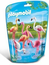 6651 Flamencos playmobil zoo,africa,safari,animal tiere flamenco flamingo