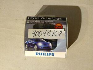 Philips Lighting Headlight Bulb Crystal Vision Ultra Pack of 2 Part # 9004CVB2
