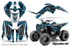 YAMAHA RAPTOR 90 2009-2015 GRAPHICS KIT CREATORX DECALS STICKERS SPIDERX BLI