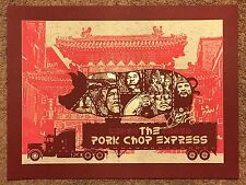 Qfschris Big Trouble In Little China Movie Art Print Poster Mondo James Hong Sig