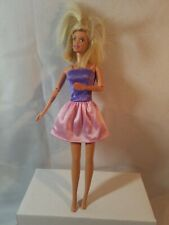Talking Barbie Doll 1966 mattel Talks English Spanish Twist Turn 1998 head