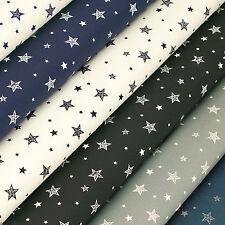 Cotton Print Fabric by Fat Quarter Star Sky Shirt Dress Quilt LuckyFabrics VK115