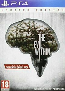 The Evil Within - Limited Edition (PS4) - Game  48VG The Cheap Fast Free Post