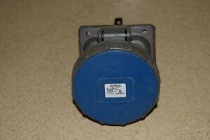 ^^ PASS & SEYMOUR LEGRAND PS360R6-W WATERTIGHT PLUG 60A 250 VAC -NEW (D1)