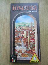 Toscana Board Game Piatnik Complete and VGC German Italian English Instructions