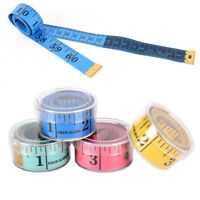 1.5m Tape Mesure Sewing Tailor Fabric Measuring Tapes Ruler Soft Flat  EF