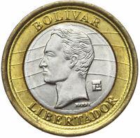Venezuela - Münze - 1 Bolivar 2012 - BOLIVAR LIBERTADOR - Bimetall
