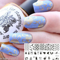BORN PRETTY Nail Art Stamping Stencil Image Template Plate BP-L025 Animal Theme