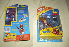Disney Mattel Toy Story 2 / FIGURINE SOARIN' SHERIFF WOODY / ROCKET FORCE NEUF