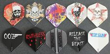 10 Packets of Brand New Ruthless Extra Strong Darts Flights - Ultimate Sampler 9