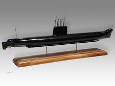 HMAS Otway Oberon Class Kiln Dried Solid Wood Handmade Desktop Submarine Model