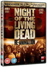 Night of the Living Dead 3D - Re-animation DVD (2012) Andrew Divoff, ***NEW***