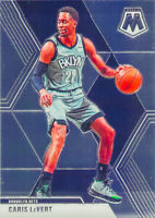 Caris LeVert 2019-20 Panini MOSAIC BASKETBALL Chrome Base Card #51 Brooklyn Nets