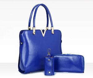 Fashion Genuine Leather Purses And Shoulder Bag