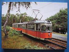 AK Ansichtskarte Postkarte Straßenbahn Großraumzug TDE 62 / BDE 62 BVG Berlin