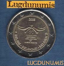 2 euro Commémo - Belgique 2008 Droits de L'Homme Belgium