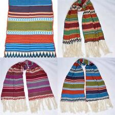 Acrylic Striped Women's Scarves and Shawls