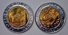 UNC SAN MARINO 500 COLUMBUS BIMETAL x 50 COINS in ROLL POSSIBLE ERRORS ? 1992