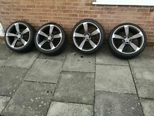 """20"""" Audi Rotor DEEP CONCAVE Style Alloy Wheels & Tyres  20X9 A5 S5 RS5 A7 ET25"""