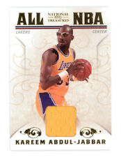 2009-10 NATIONAL TREASURES KAREEM ABDUL-JABBAR ALL NBA GAME WORN PATCH 23/25