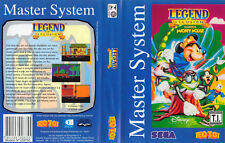 Legend of Illusion Brazil Sega Master System Replacement Art Case Insert Cover