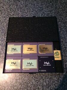 Intel Pentium Pro Cpu's Processors Rare Collection 150mhz-200mhz. Keychain.