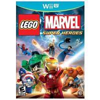 LEGO MARVEL SUPER HEROES  (NINTENDO Wii U, 2013) (9718)  ***FREE SHIPPING USA***