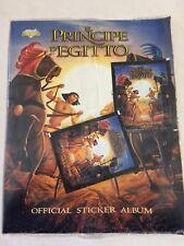 Il Principe d'Egitto Album Figurine + 2 Bustine Blisterato/Nuovo Diamond 1998