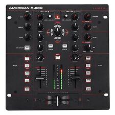 American Audio 10 MXR 2-Ch. DJ Mixer w/ Midi/Analog Control+Built-in DSP 10MXR
