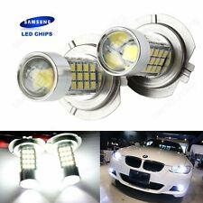 2 Ampoules H7  54 SMD LED Anti Brouillard de voiture Phare Lampe Blanc