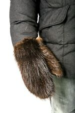 Men's Beaver fur Mittens